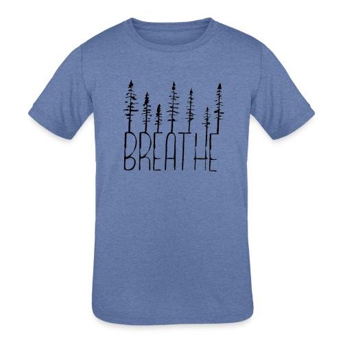 Kids Tri-Blend Breathe - Kids' Tri-Blend T-Shirt