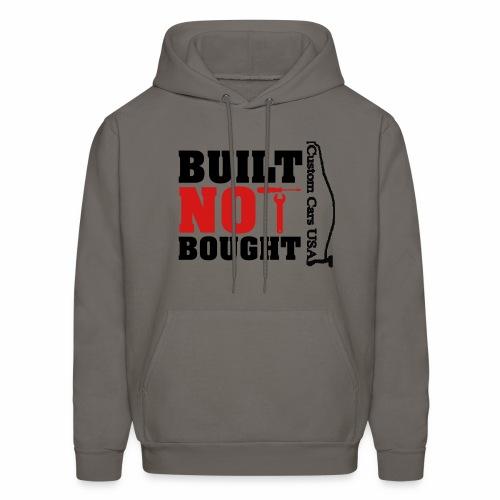 CCU  Built Not Bought  - Men's Hoodie