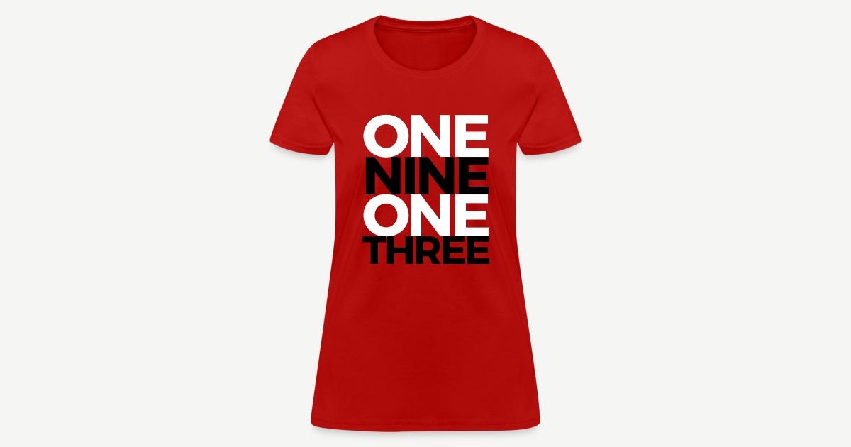 The HBCU Shop - HBCU Grad Shirts Hoodies Sweatshirts and More | 1913 - One  None One Three - Womens T-Shirt