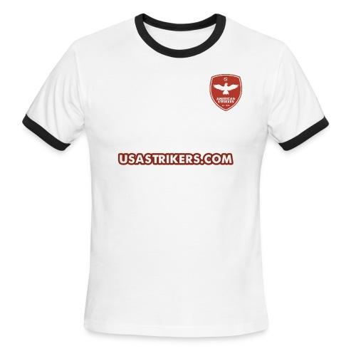 AS Throwback Home Kit - Men's Ringer T-Shirt