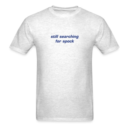 Search for Spock T-Shirt - Men's T-Shirt