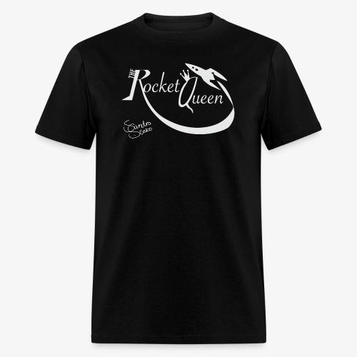 TheRocketQueen men's t-shirt black! - Men's T-Shirt