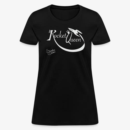 TheRocketQueen women's t-shirt black! - Women's T-Shirt