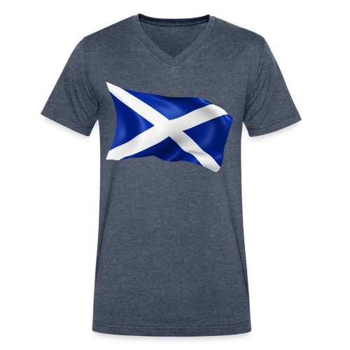 Scotland - Men's V-Neck T-Shirt by Canvas