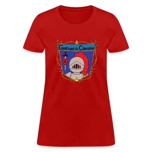 T-shirt pour femmes «Gontrand le Colorié» - T-shirt pour femmes