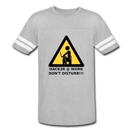 Hacker at work - Vintage Sport T-Shirt