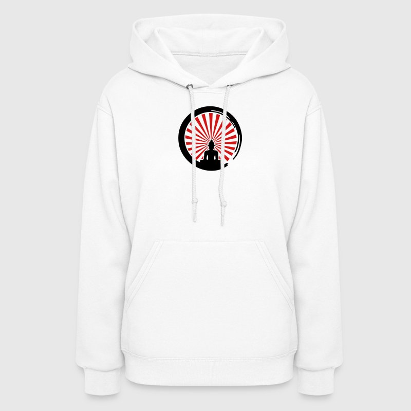 Enso, Zen Circle of Enlightenment, Buddha, Japan Hoodies - Women's Hoodie