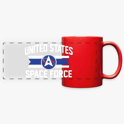 United States Space Force Mug - Full Color Panoramic Mug