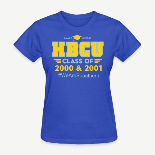 HBCU Grad Classes and Hashtag [Personalize it] - Women's T-Shirt