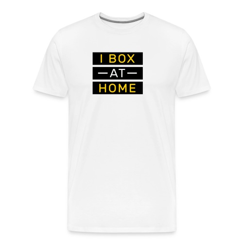 Box at home - logo on back - Men's Premium T-Shirt