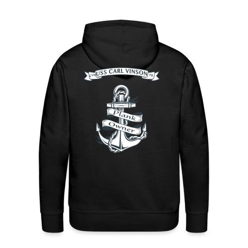 USS Carl Vinson Plank Owner Hoodie - Men's Premium Hoodie