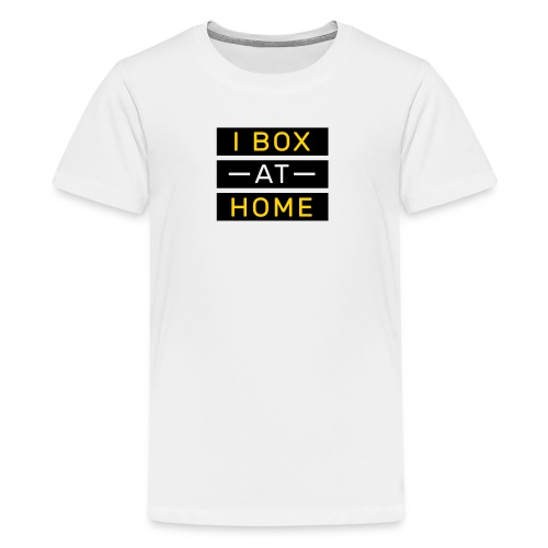 Kids -Box at home - logo on back - Kids' Premium T-Shirt