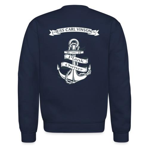 USS Carl Vinson Plank Owner Sweatshirt - Crewneck Sweatshirt