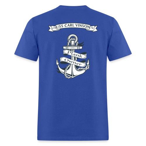USS Carl Vinson Plank Owner - Men's T-Shirt