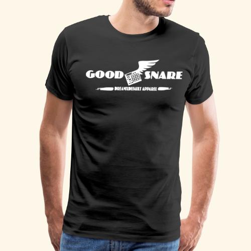 GOOD SNARE- THE BEATMAKER TEE w/BACKSTAMP - Men's Premium T-Shirt
