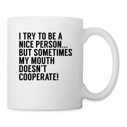 i'm not a nice person - Coffee/Tea Mug