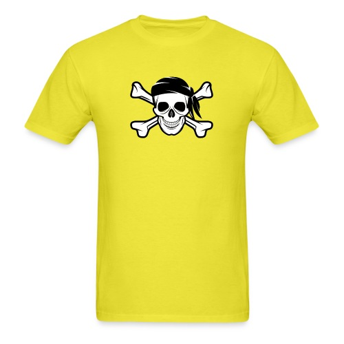 Pirate Skull Banderas - Men's T-Shirt