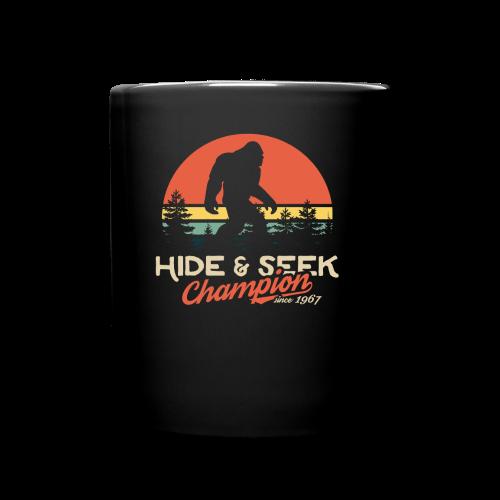 Xeire Hide and Seek Champion since 1967 Bigfoot - Full Color Mug