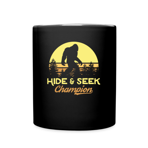 Xeire Hide and Seek Champion Bigfoot - Full Color Mug
