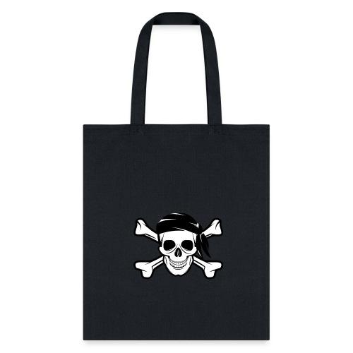 Pirate Skull Banderas - Tote Bag