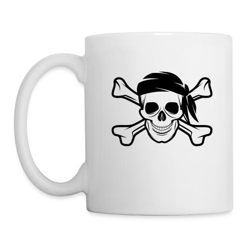 Pirate Skull Banderas - Coffee/Tea Mug