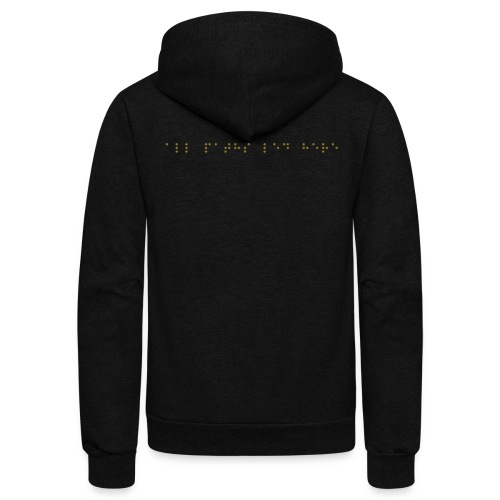 ubiquitter unisex fleece zip hoodie alternate - Unisex Fleece Zip Hoodie