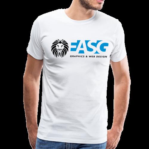 Men's T-Shirt v.2 (WHITE) - Men's Premium T-Shirt
