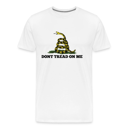 GADSDEN DONT TREAD ON ME - Men's Premium T-Shirt