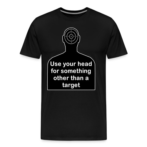 Use your head - Men's Premium T-Shirt