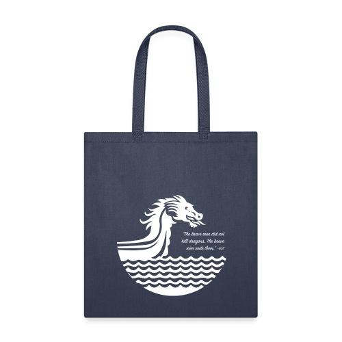 Riding Dragons Tote - Tote Bag