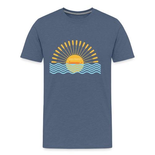 Men's Premium T-Shirt - paddling,paddle life,paddle,dragonboat,dragon boat,canoeing,canoe