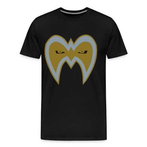 Ultimate Warrior Limited Edition 1 of 50 Metallic Shirt - Men's Premium T-Shirt