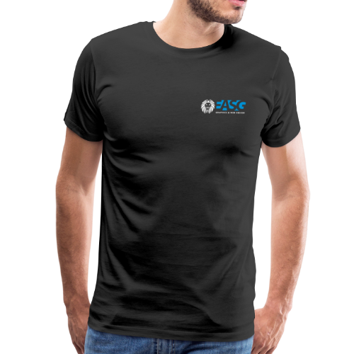 Men's T-Shirt v.1 (BLACK) - Men's Premium T-Shirt