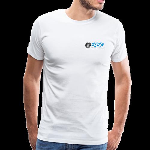 Men's T-Shirt v.1 (WHITE) - Men's Premium T-Shirt