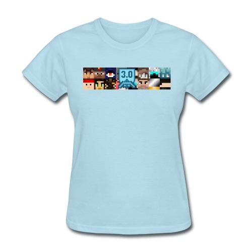 Women's T - Freebuilders Faces - Women's T-Shirt