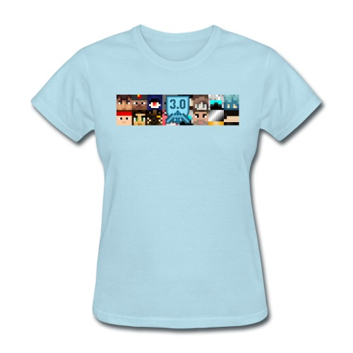 Women's T - Freebuilders Faces - Women's T-Shirt