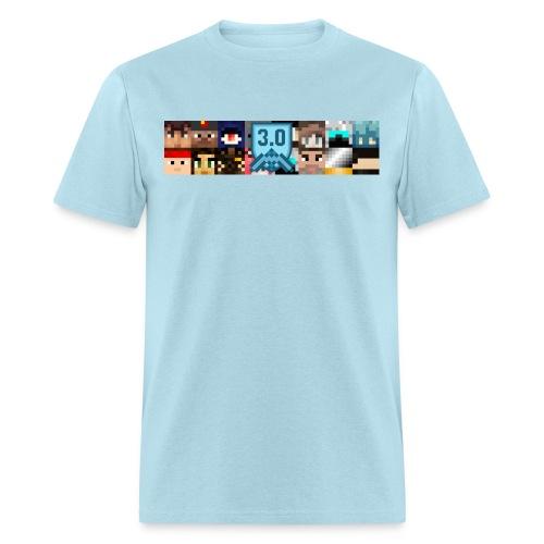 Men's T - Freebuilders Faces - Men's T-Shirt