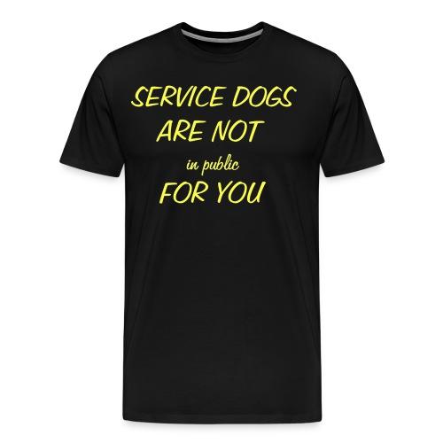 Service Dog - Men's Premium T-Shirt