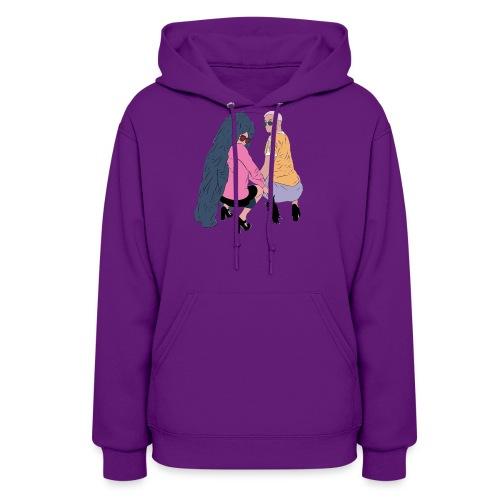 SASSY SALIB Hoodie: Poppin Purple - Women's Hoodie