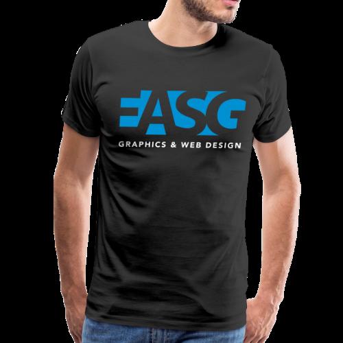 King of Design (BLACK) - Men's Premium T-Shirt