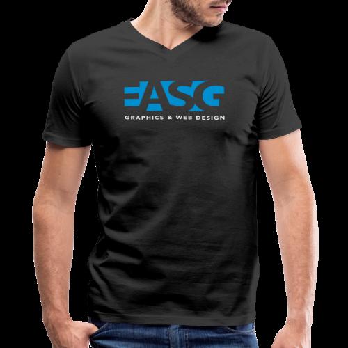 King of Design V-Neck (BLACK) - Men's V-Neck T-Shirt by Canvas