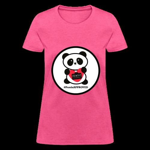 #PandaAPPROVED CIRCLE Women's t-shirt - Women's T-Shirt