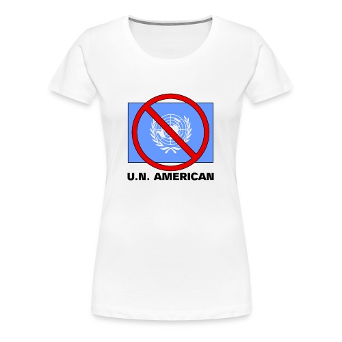 U.N. AMERICAN - Women's Premium T-Shirt