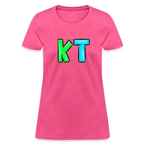 KT Logo (Female Shirt) - Women's T-Shirt