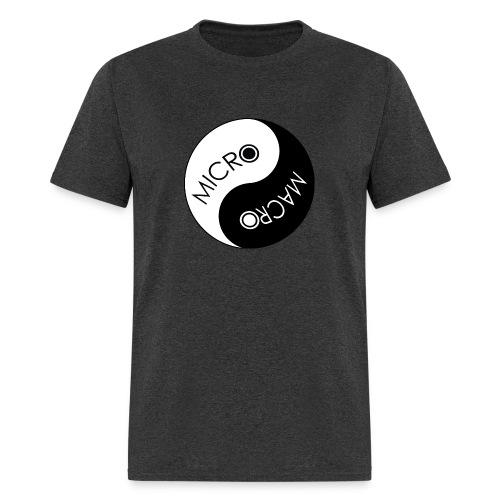 Micro Macro Balance - Men's Charcoal T - Men's T-Shirt