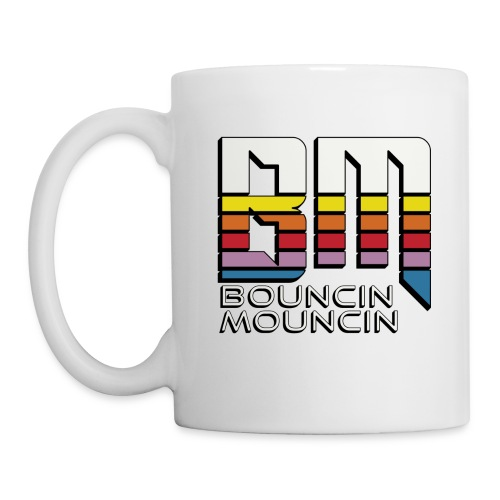 BouncinMouncin White Mug - Coffee/Tea Mug