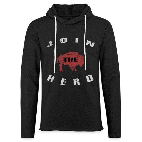Join the Herd Light-Weight Hoodie - Unisex Lightweight Terry Hoodie