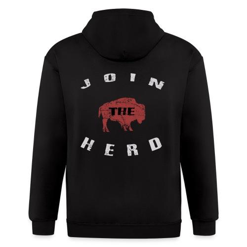 Join the Herd Zip Hoodie - Men's Zip Hoodie