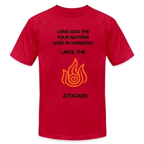 Fire Nation - Men - Men's Fine Jersey T-Shirt