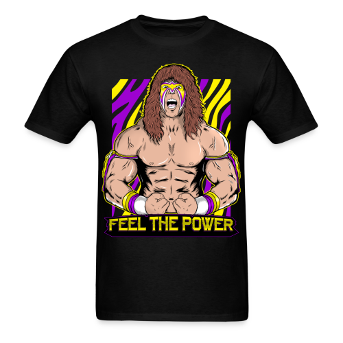 Ultimate Warrior Feel The Power Shirt - Men's T-Shirt